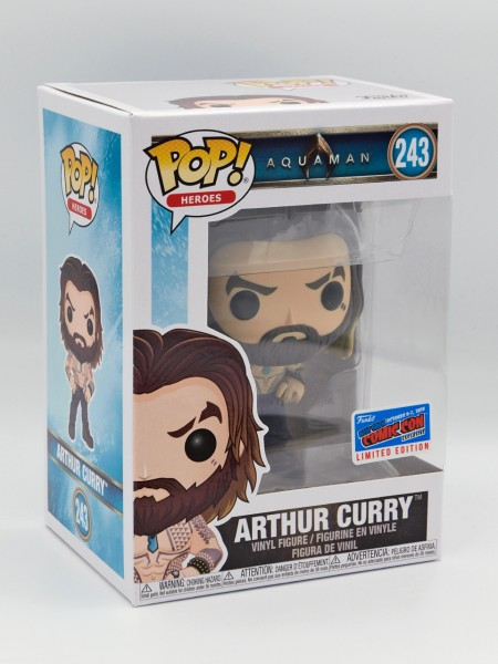 Funko Pop! Heroes: Arthur Curry (Shirtless) (Bild 1)