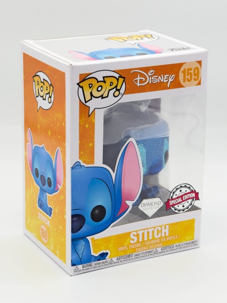 Funko Pop! Disney: Lilo & Stitch - Stitch Seated (Diamond Glitter) (Bild 1)