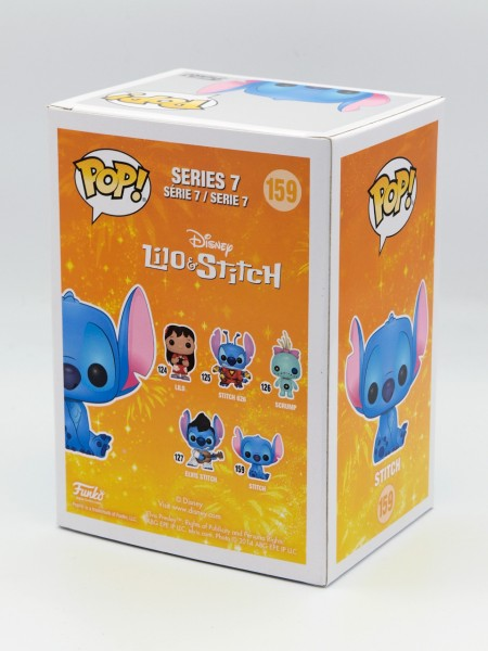 Funko Pop! Disney: Lilo & Stitch - Stitch Seated (Diamond Glitter) (Bild 3)